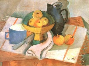 Janos Kmetty - Still-life