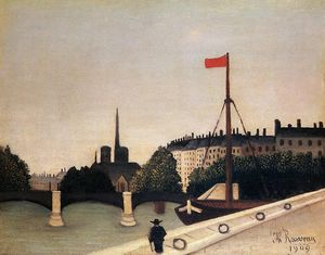 Henri Emilien Rousseau - Notre Dame - View of the ..