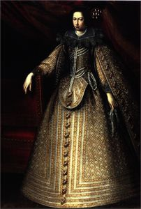 Sante Peranda - Portrait of Isabella of S..