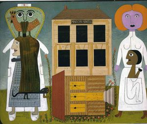 Victor Brauner - Untitled (182)