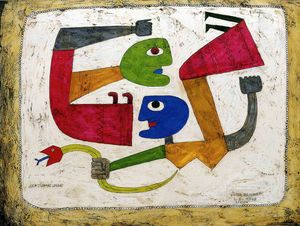 Victor Brauner - Untitled (598)