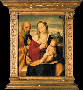Nicola Pisano - The holy family
