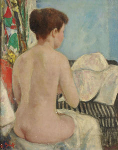 François Gall - Eugenie Nude from Back, S..