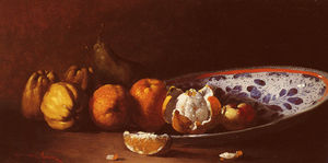 Germain Ribot - A Still Life with Fruits