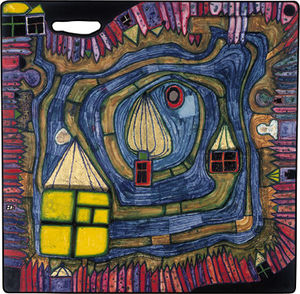 Friedensreich Hundertwass.. - End of the Waters