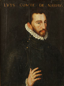 Adriaen Thomasz Key - Louis, Count of Nassau