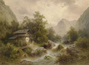 Albert Rieger - Mill on the mountain