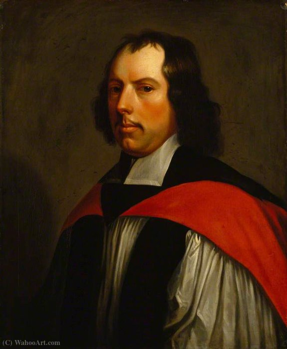 Thomas cartwright by Gerard Soest (1600-1681, Germany) | Museum Art Reproductions | ArtsDot.com