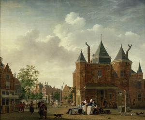 Isaak Ouwater - De Sint-Antoniuswaag in A..