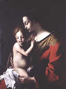 Jean Tassel - Madonna and Child