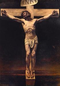 Léon Joseph Florentin Bon.. - Christ on the Cross