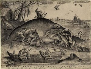 Pieter Van Der Heyden - Big fish eat small fish