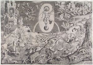 Pieter Van Der Heyden - The last judgment