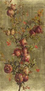 William Hughes - Pomegranates and Flowers