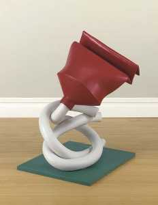 Claes Oldenburg - Tube Supported by its Con..