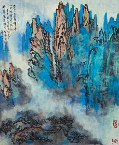 Liu Haisu - Summits of Mount Huang