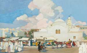 Léon Cauvy - The Fishery Mosque (La Mo..