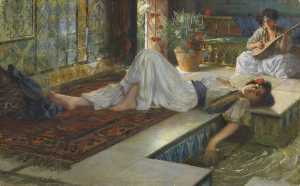 Ferdinand Max Bredt - Leisure of the Odalisques..
