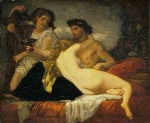 Thomas Couture Senlis Vil.. - Horace and Lydia