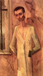 Felix Nussbaum - Jew by the Window