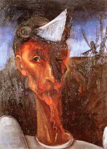Felix Nussbaum - Don Quixote and the Windm..