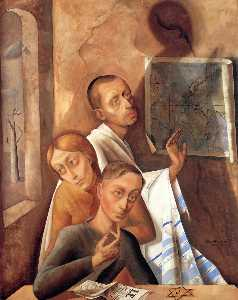 Felix Nussbaum - Group of Three
