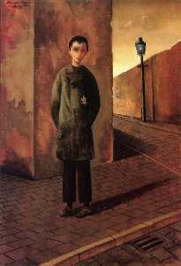 Felix Nussbaum - Jaqui in the Street