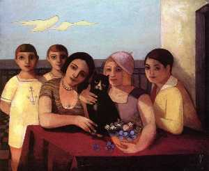 Felix Nussbaum - Group Portrait