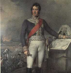 Joseph Karl Stieler - Field Marshal Carl Philip..
