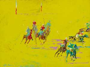 Leroy Neiman - The Polo Match