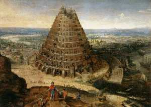 Lucas Van Valckenborch I - The Tower of Babel