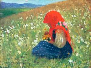 Marianne Stokes - Girl of the Tatra