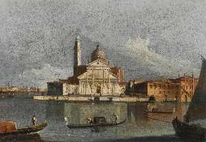 Francesco Tironi - Venice, a view of San Gio..