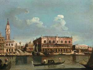Francesco Tironi - View of the Piazzetta fro..