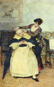 Vicente Palmaroli Y Gonza.. - The Haircut