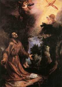 Cigoli - St Francis Receives the S..