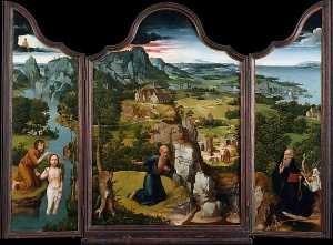 Joachim Patinir - The Penitence of Saint Je..