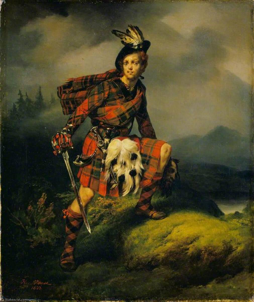 для картинки шотландцев художниками шотландии имя