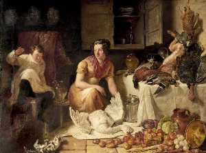 George Lance - Preparation for a Banquet