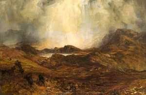 Henry Clarence Whaite - Mountains in Wales