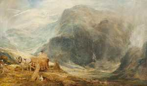 Henry Clarence Whaite - Harvest, North Wales