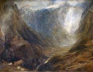 Henry Clarence Whaite - The Heart of Snowdon