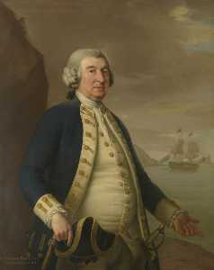 John Francis Rigaud - Admiral William Parry (17..