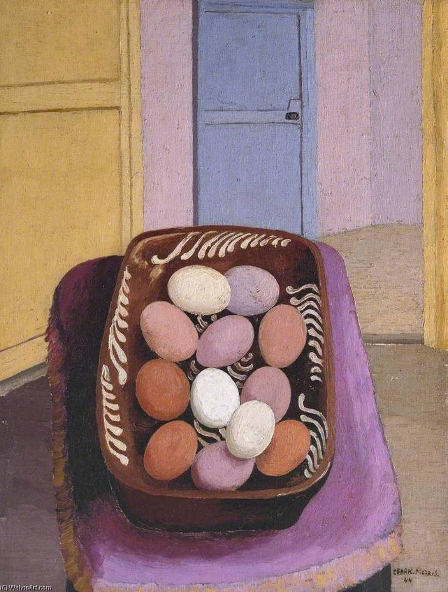 The Eggs, 1944 by Cedric Lockwood Morris (1889-1982, United Kingdom) | Art Reproduction | ArtsDot.com
