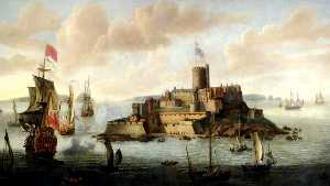 Isaac Sailmaker - Castle Cornet (before the..