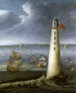 Isaac Sailmaker - Eddystone Lighthouse