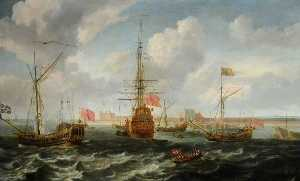 Isaac Sailmaker - Shipping off Sheerness
