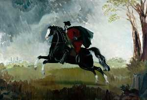 Doris Clare Zinkeisen - York Dick Turpin's Ride (..