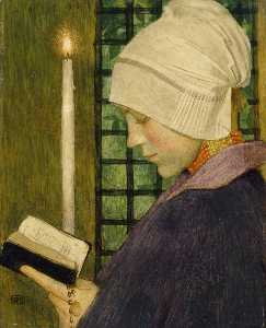Marianne Stokes - Candlemas Day