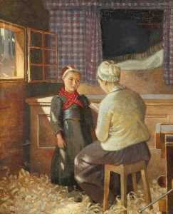 Marianne Stokes - The Lesson